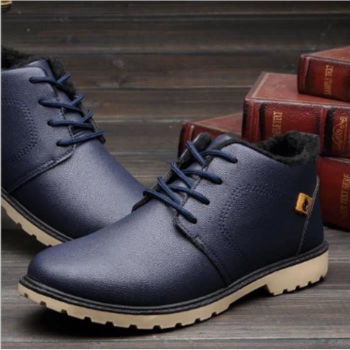 Chaussures de sport des hommes chauds d'hiver Bleu FiPlncO