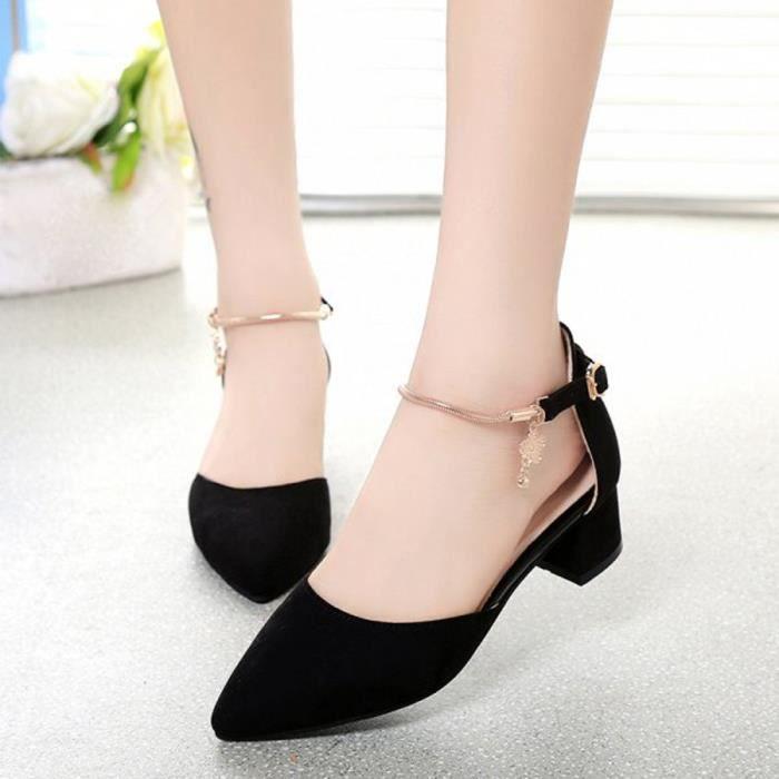 deuxsuns®Chaussures à talons hauts Chaussures de mariage Sandales d'été Chaussures Plateformes compensées dwMouA