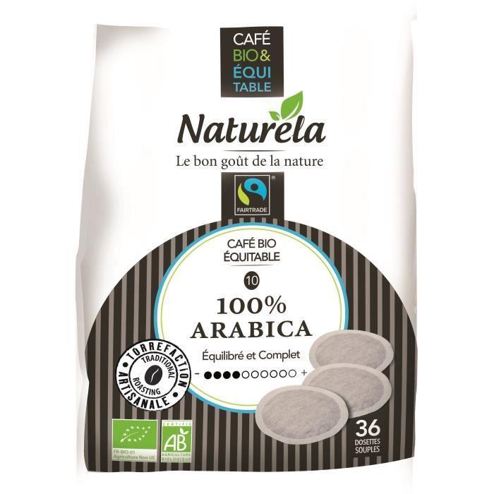 CAFÉ - CHICORÉE Naturela Café Dosettes Souples 100% Arabica Équita
