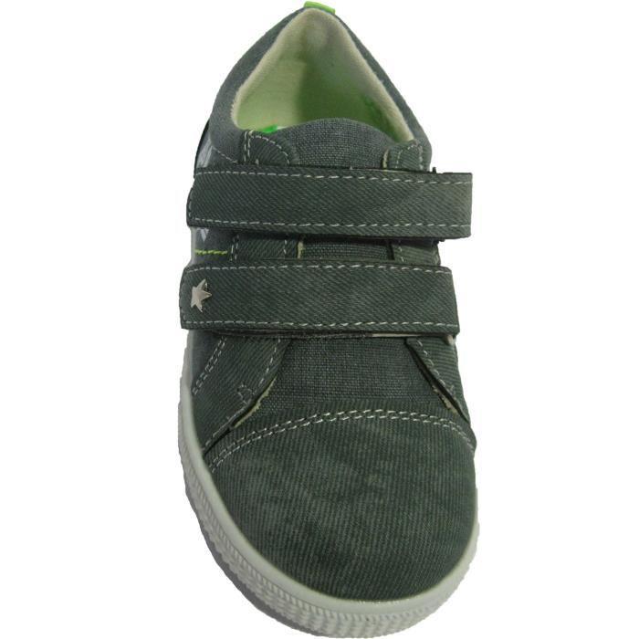 Baskets grises pour bébés garçons xof0QU4Vr