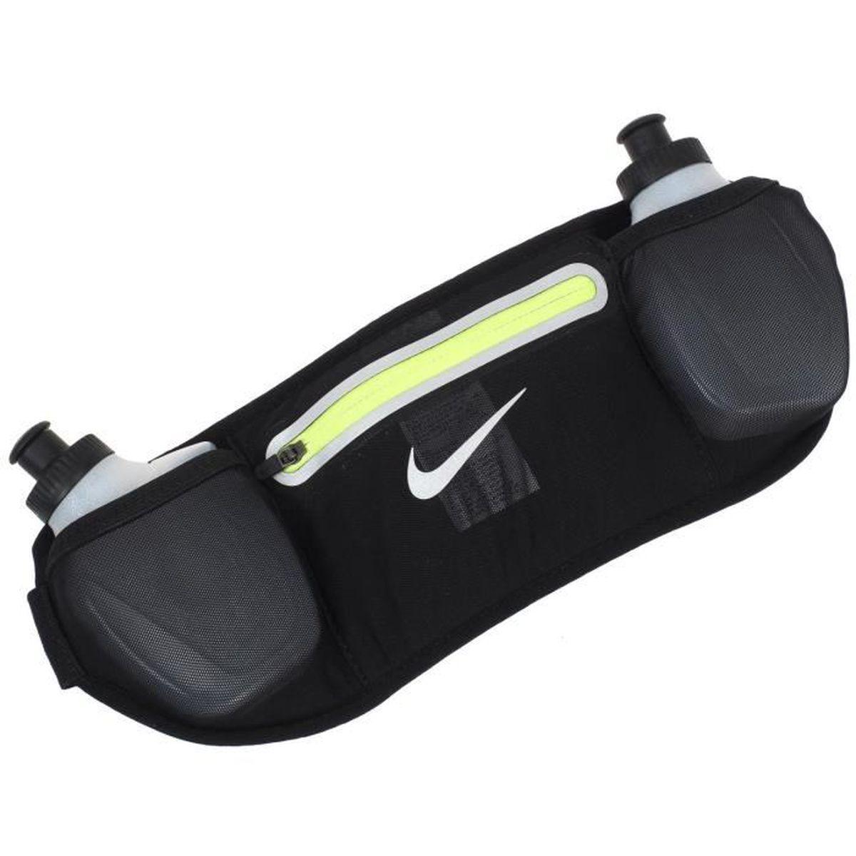 Ceinture de running Lean 2 bottle - Nike UNI Noir - Prix pas cher ... e92ebb10b11