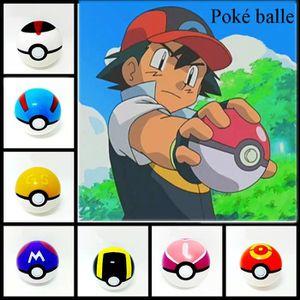 FIGURINE - PERSONNAGE Lot de 9 Poké Pokémon ball balle