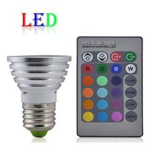 AMPOULE - LED E27 Ampoule Spot LED RGB 3W 230V Pr Maison Restaur
