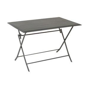 TABLE DE JARDIN  Table de jardin rectangulaire Azua 4 places Ardois