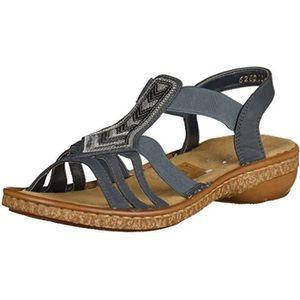 238c72cc0cc3 SANDALE - NU-PIEDS sandales   nu pieds 62821 femme rieker 62821