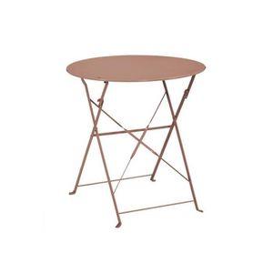 Table de jardin ronde - Achat / Vente Table de jardin ronde pas cher ...