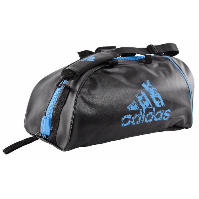 Sac transformable Adidas noir/bleu solar 2 tailles au choix - L
