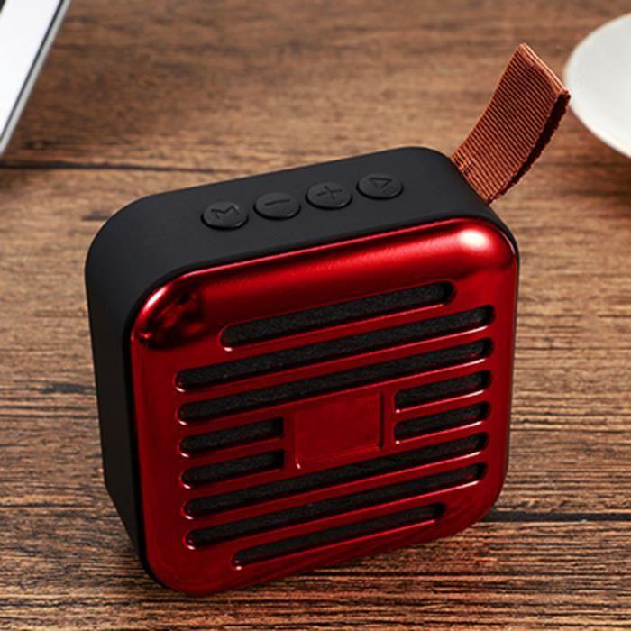 Haut-parleur Bluetooth 4.2 Tf Sans Fil Extérieur Portatif Pour Ordinateur Portable Smartphone