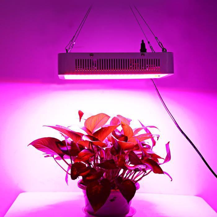 Lampe De Croissance Et Floraison Led Panneaux Lumineux A Spectre