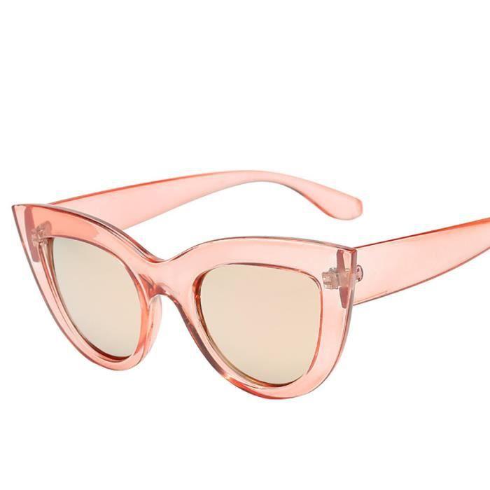 d3fa2a9e63c557 Femmes Vintage Cat Eye Lunettes de soleil Retro Eyewear Mode Ladies rw622