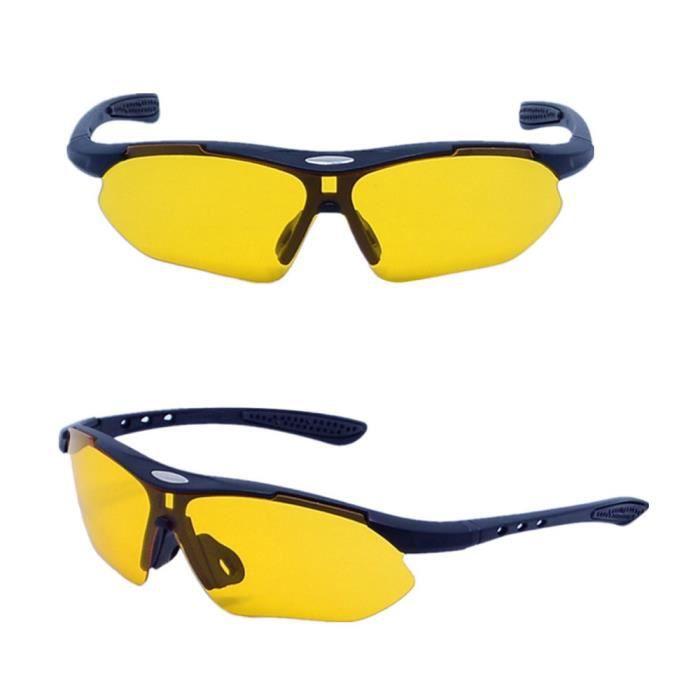TZQ Hommes à L'extérieur Protection Lunettes De Soleil Polarisées,Yellow