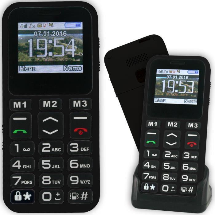 Le CLASSIC MAX 3 blanc,téléphone mobile pour senior, personne agée. Un  modèle simple, pratique et très facile à utiliser 4a6b5cd1bfdc