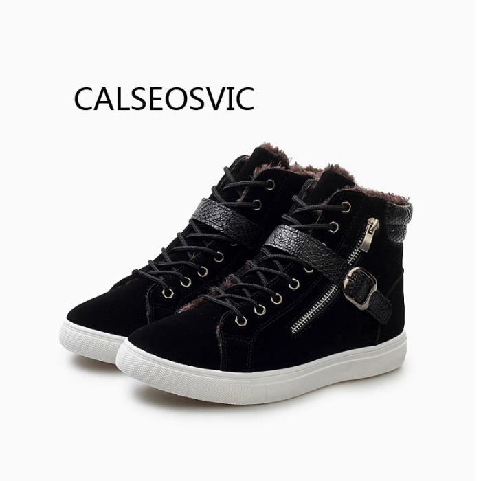 Calseosvic® Bottines CD98TI Chaussures Homme