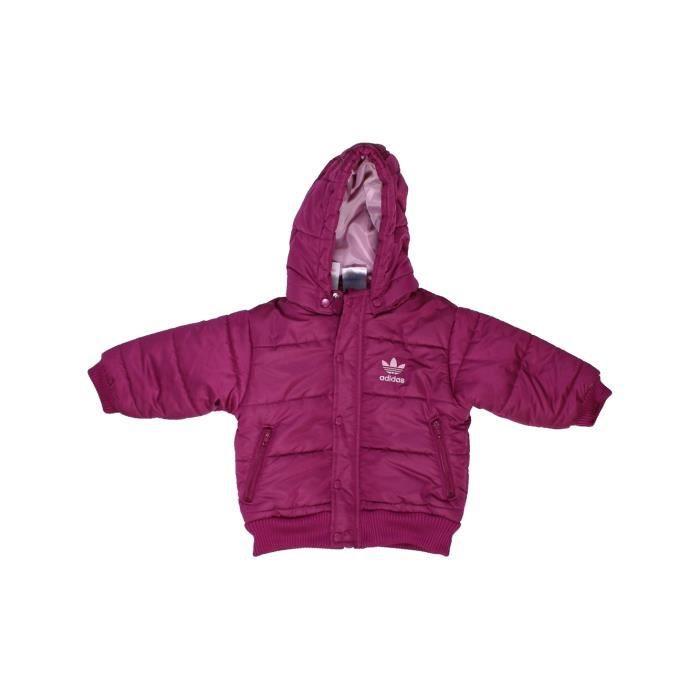 7f07080452e31 Doudoune bébé fille ADIDAS 3 mois violet hiver - vêtement bébé  1063904