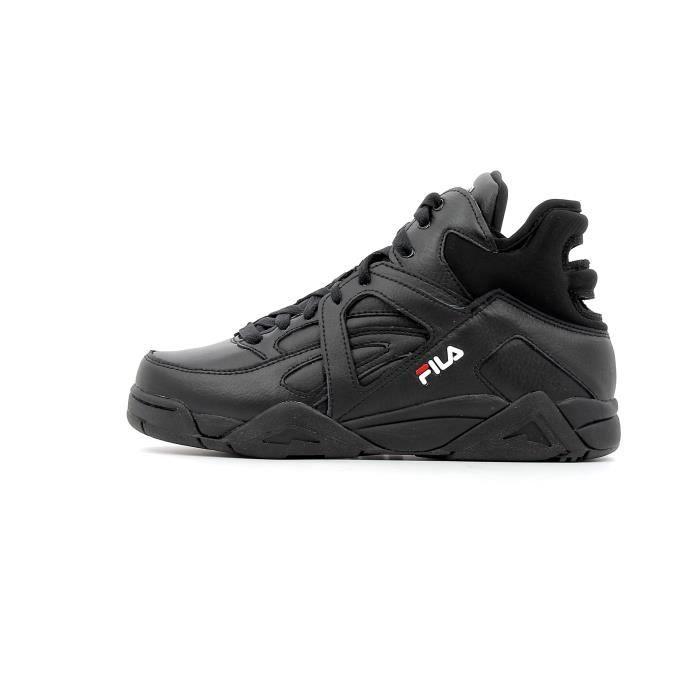 6398e530502a Baskets Fila Cage Mid WMN coloris Black Noir Noir - Achat   Vente ...