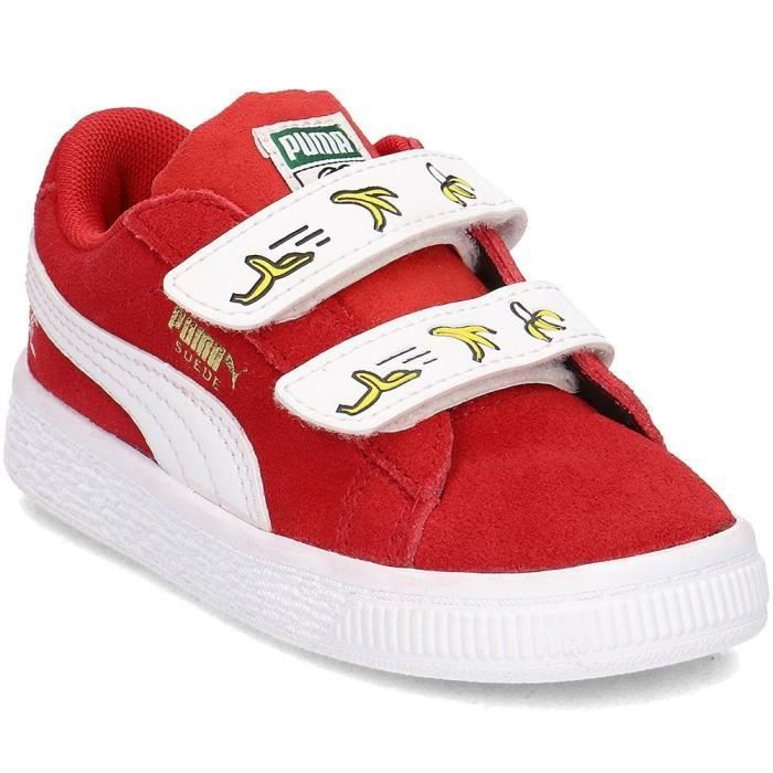 a19d2f3940 Chaussures Puma Minions Suede V Inf Rouge Rouge - Achat   Vente ...