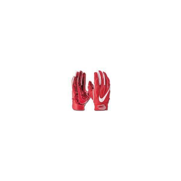 separation shoes 8867a f9471 Gant de Football Américain Nike Superbad 4.5 Rouge