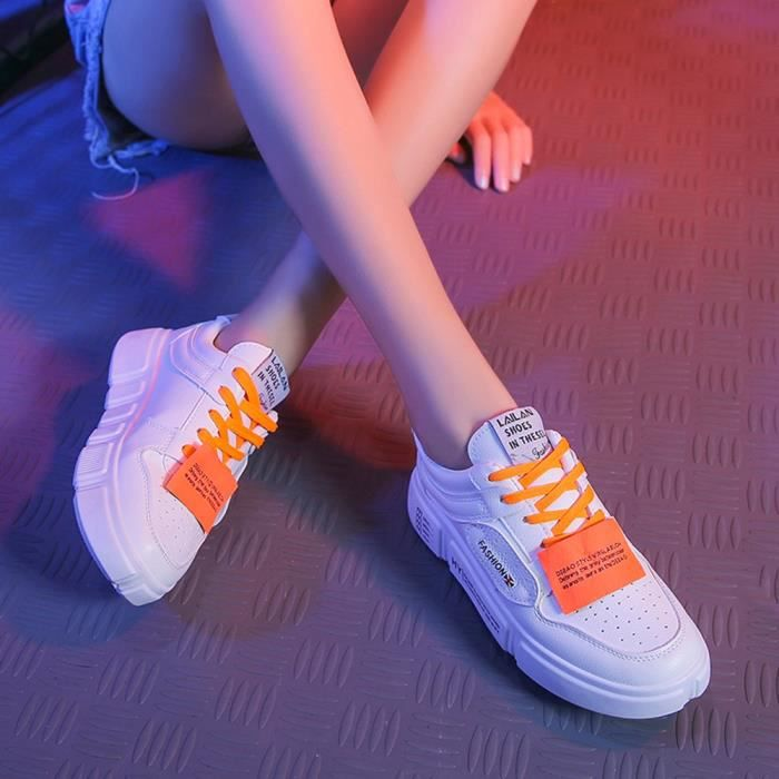 Femmes Tendance Sneakers 2406 Confortable Mode Plates Chaussures Casual TgwqxS