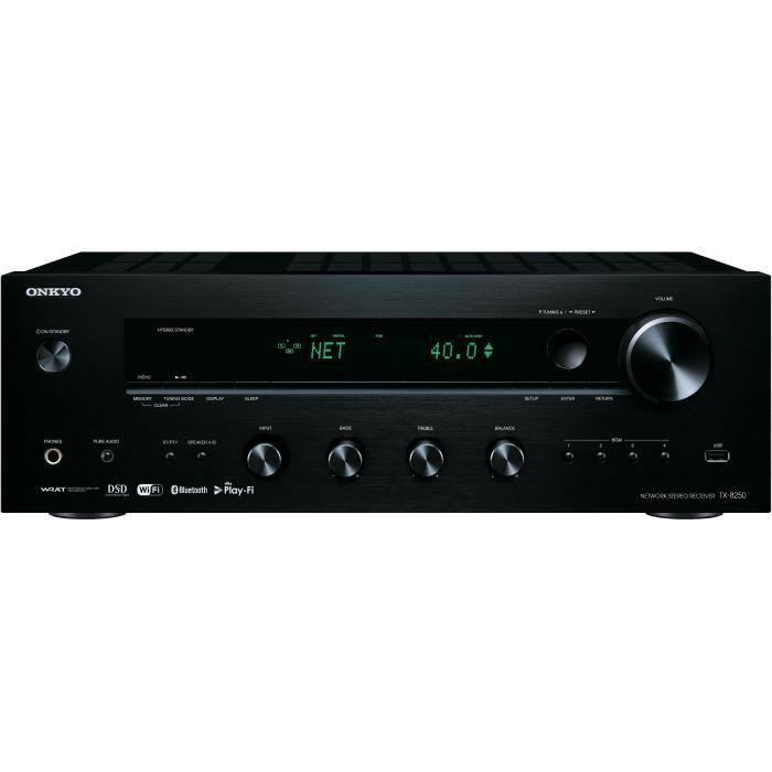 ONKYO TX-8250 Ampli-Tuner stéréo réseau - Noir