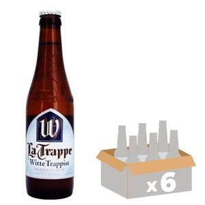 BIÈRE BRASSERIE LA TRAPPE - Bière Blanche - 33 cl x6 - 5