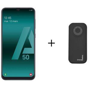 SMARTPHONE Galaxy A50 Noir + Batterie Externe