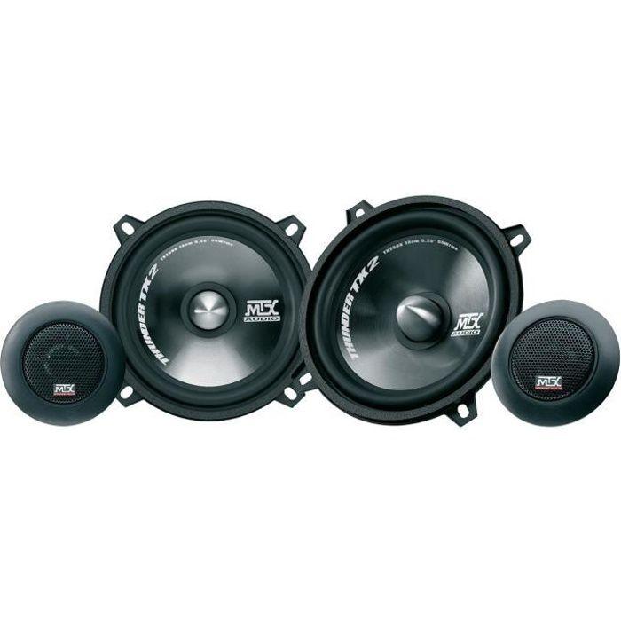 INSTALLATION AUTORADIO MTX Haut-parleur Kit 2 Voies TX250S Ø13 cm 55 W RM