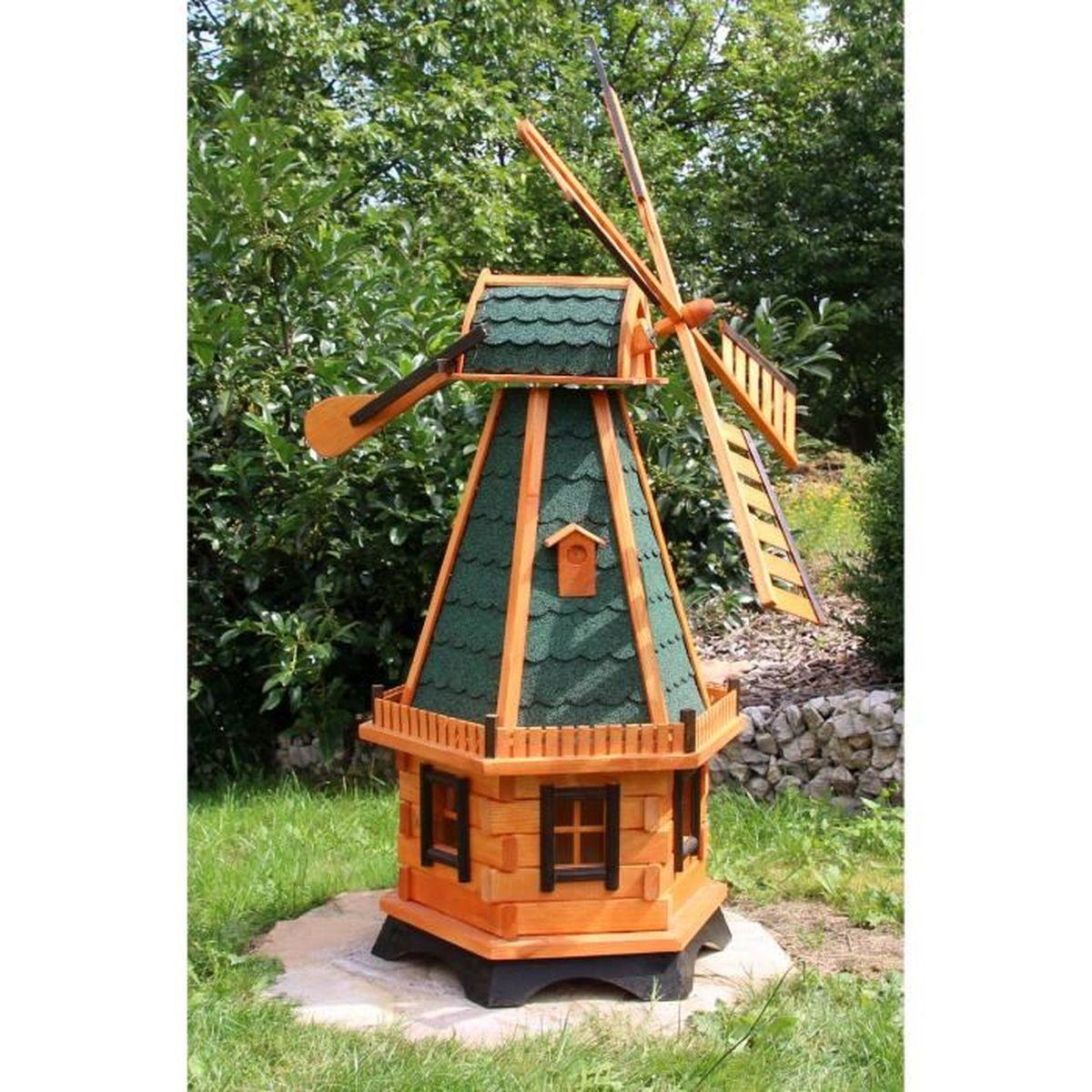 Moulin en bois deco jardin achat vente moulin en bois for Achat decoration jardin