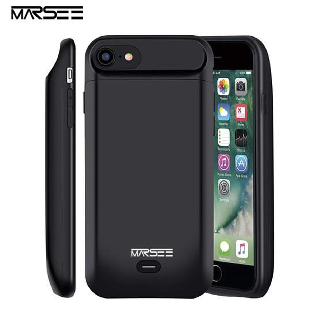 chargeur coque iphone 8