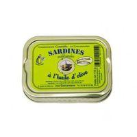PRODUIT DE SARDINE Sardines à l'Huile d'Olive Millésimées 115 gr
