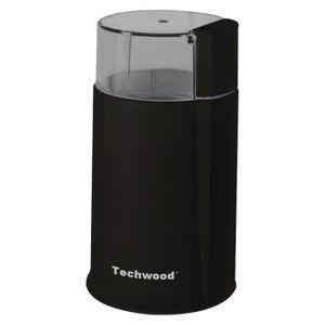 TECHWOOD TMC-886 Moulin ? café électrique - Noir