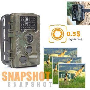 CAMÉRA SPORT HC800A 16MP vidéo HD 1080p chasse Vision nocturne