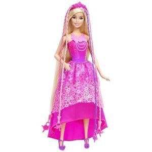 POUPÉE BARBIE Princesse Tresses Magiques