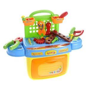boite outil enfant achat vente jeux et jouets pas chers. Black Bedroom Furniture Sets. Home Design Ideas
