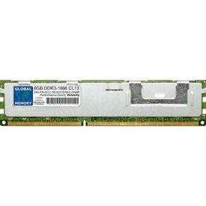 MÉMOIRE RAM 8Go DDR3 1866MHz PC3-14900 240-PIN ECC REGISTERED
