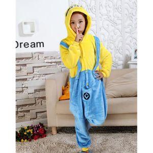 pyjama combinaison minion achat vente pyjama combinaison minion pas cher soldes d s le 10. Black Bedroom Furniture Sets. Home Design Ideas
