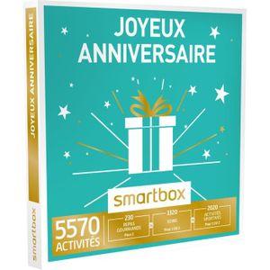 COFFRET THÉMATIQUE Coffret Cadeau - Joyeux anniversaire - Smartbox