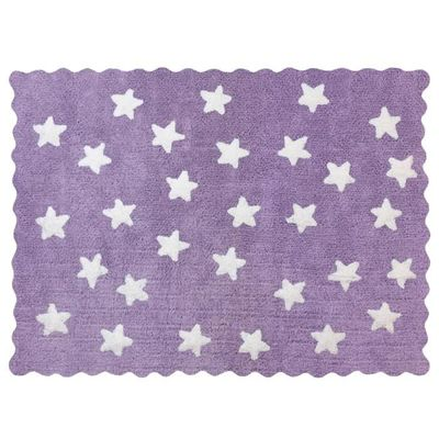 Tapis enfant coton étoiles eden mauve - Achat / Vente tapis - Soldes ...