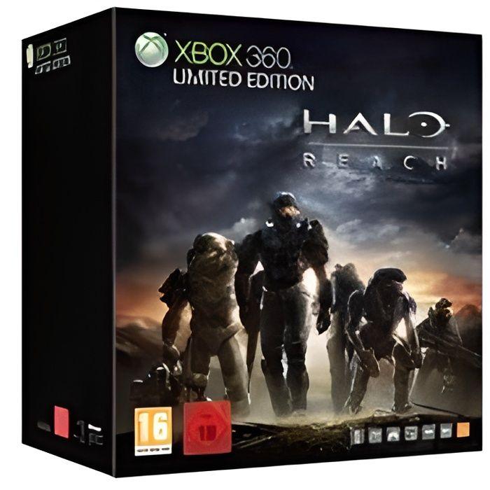 CONSOLE XBOX 360 Pack console XBox360 Halo Reach.