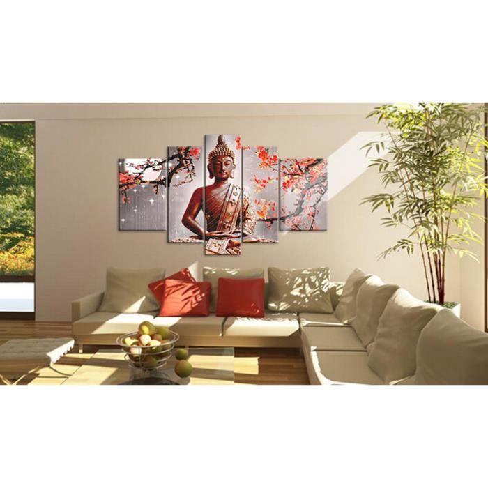Peinture  LHuile Multi Panneaux  Comit Mur Art Religion Bouddha