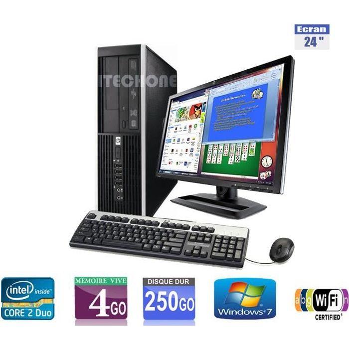 Pc de bureau hp 6000 pro core 2 duo 3 00 ghz ram 4 go for Pc bureau 64 go ram