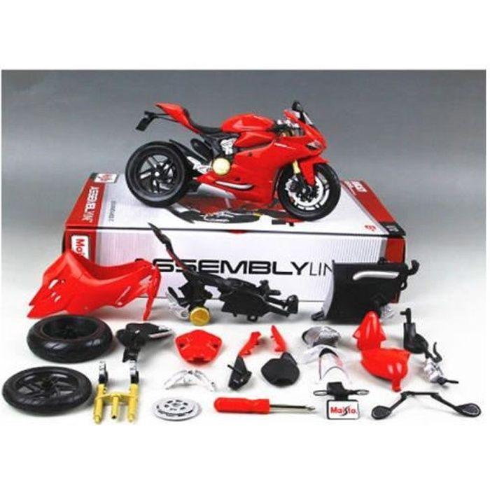maquettes moto 1 12 achat vente jeux et jouets pas chers. Black Bedroom Furniture Sets. Home Design Ideas