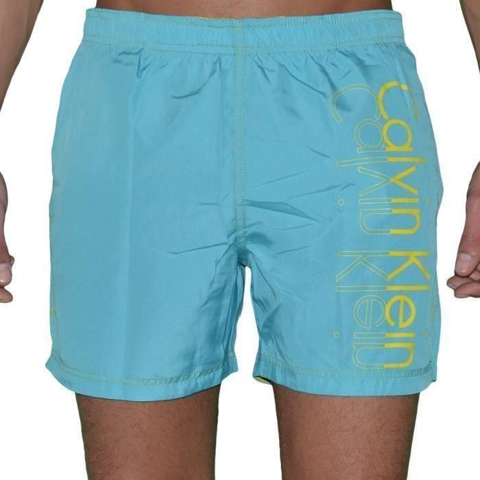 Offres En Ligne Pas Cher CALVIN KLEIN Short de plage en coton agréable aupJmz2