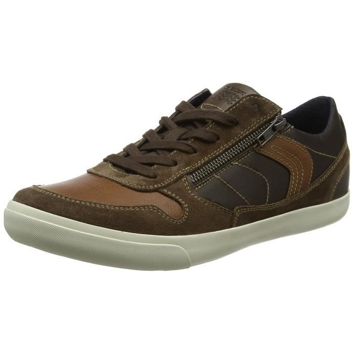 Basses Marron Homme U Box Vente CBaskets Achat Geox 0Ovm8PNynw