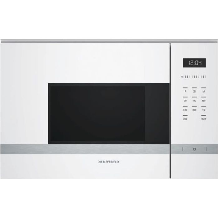 Siemens Iq500 Bf525lmw0 Four Micro Ondes Monofonction Intégrable 20