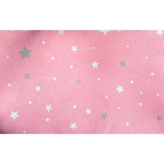 Rideau occultant rose clair étoilé pour chambre enfant - Achat ...