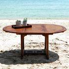 table de jardin table de jardin teck huil 68 pers largeur 120cm - Table De Jardin Teck