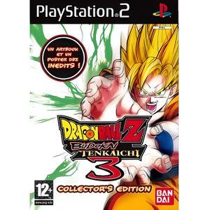 JEU PS2 DRAGON BALL Z BUDOKAI TENKAICHI 3