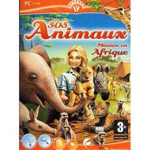 JEU PC SOS ANIMAUX MISSION EN AFRIQUE / PC CD-ROM
