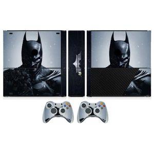 STICKER - SKIN CONSOLE Sticker-Decal Autocollant Xbox  -  360 E Batman bl