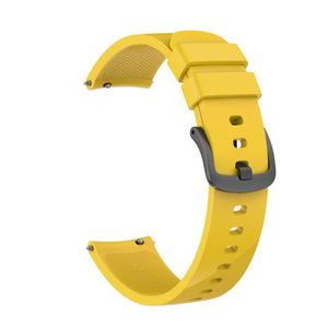 BRACELET DE MONTRE Doux remplacement de silicone montre de sport Sang
